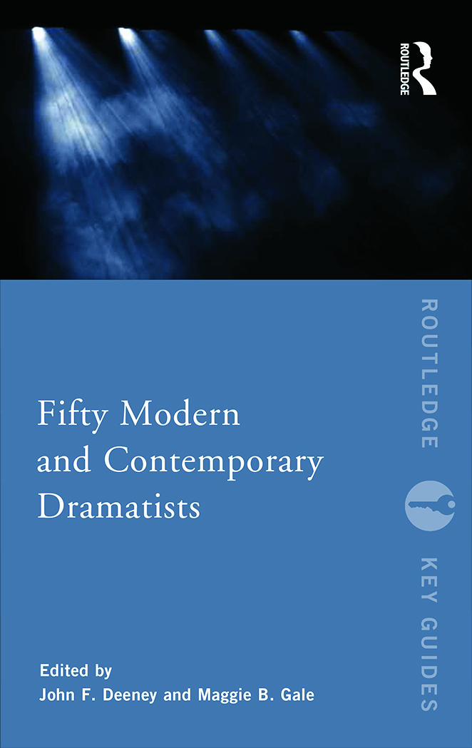 Fifty Modern and Contemporary Dramatists book cover