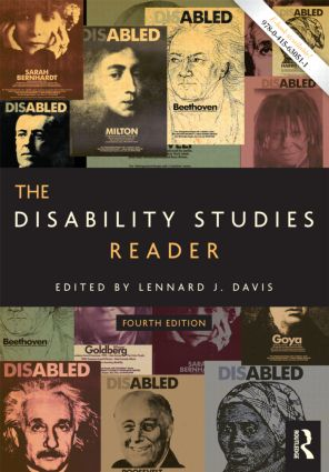 The Disability Studies Reader: 4th Edition (Paperback) book cover