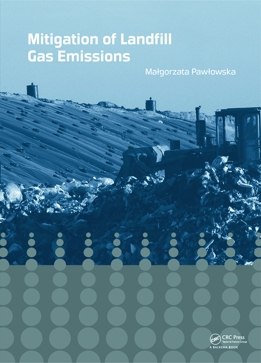 Mitigation of Landfill Gas Emissions: 1st Edition (Hardback) book cover
