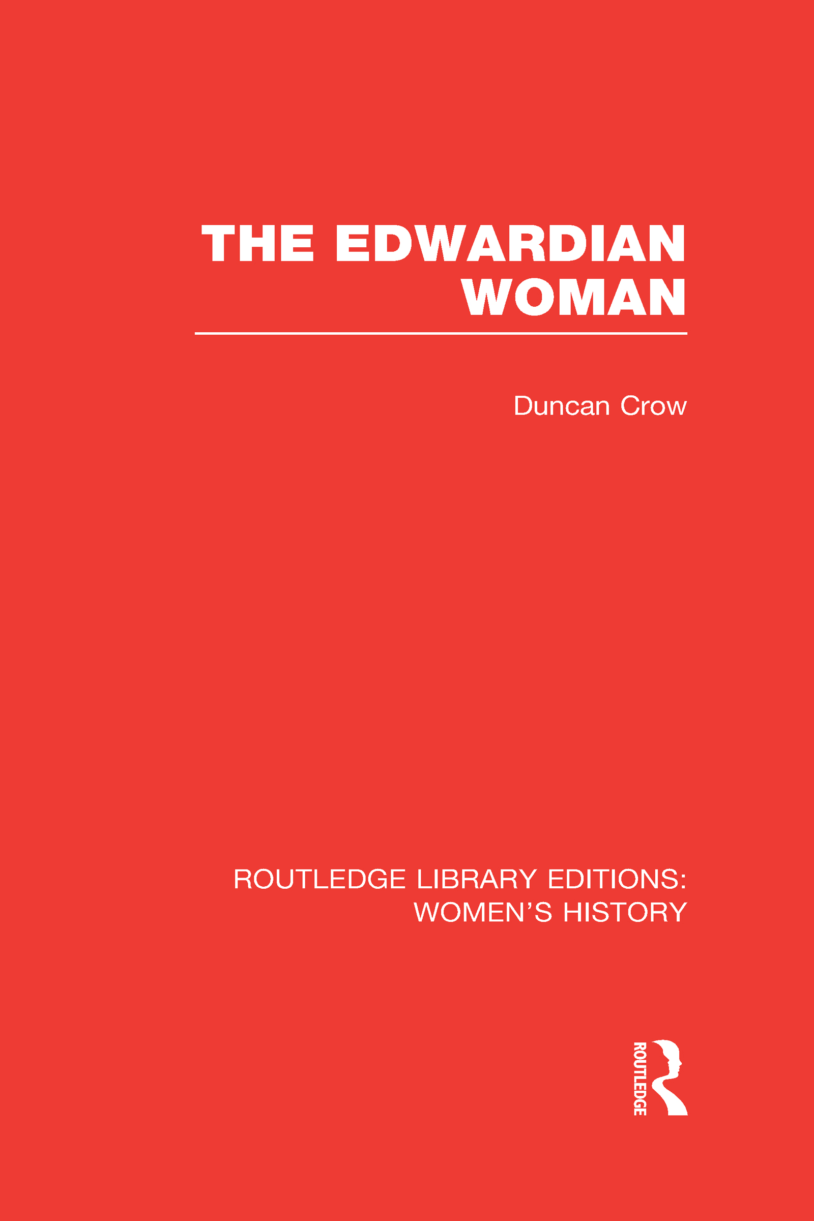 The Edwardian Woman (Hardback) book cover