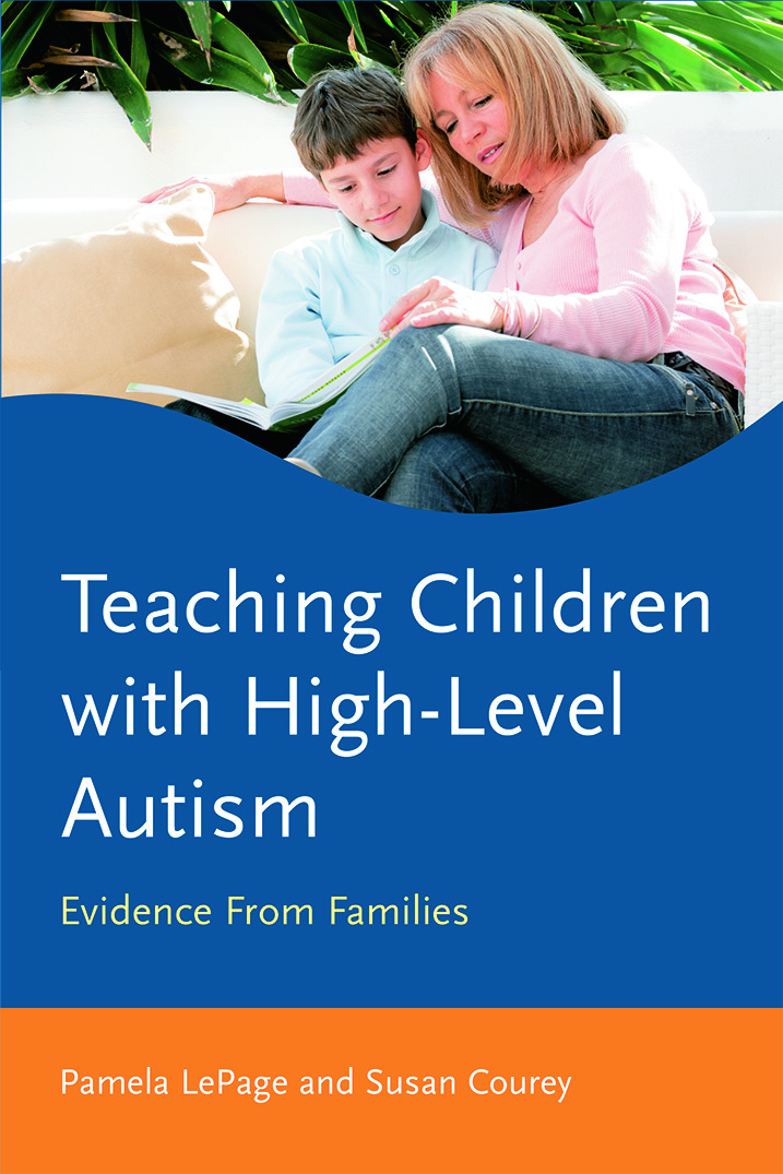 Teaching Children with High-Level Autism: Evidence from Families (Paperback) book cover