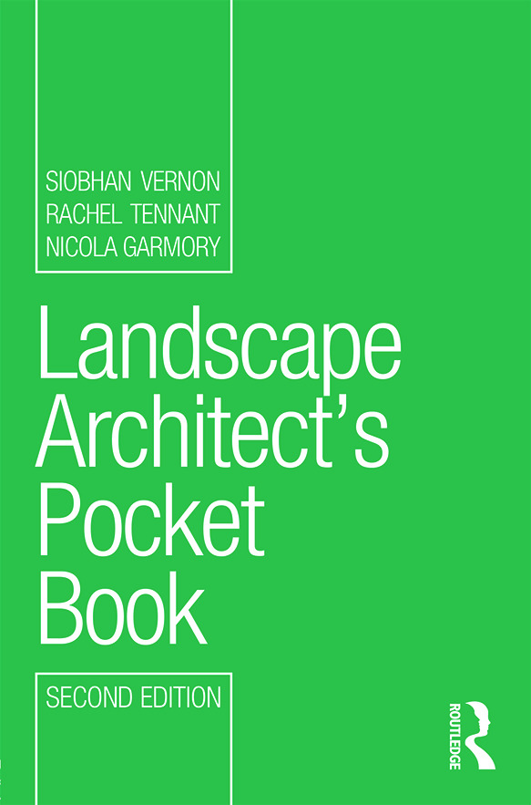 Landscape Architect's Pocket Book: 2nd Edition (Paperback) book cover