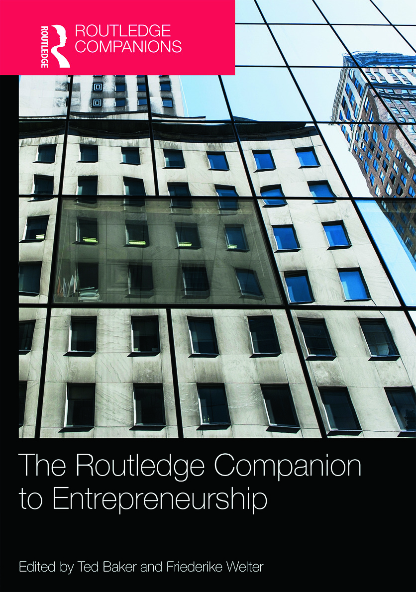 The Routledge Companion to Entrepreneurship: 1st Edition (Hardback) book cover