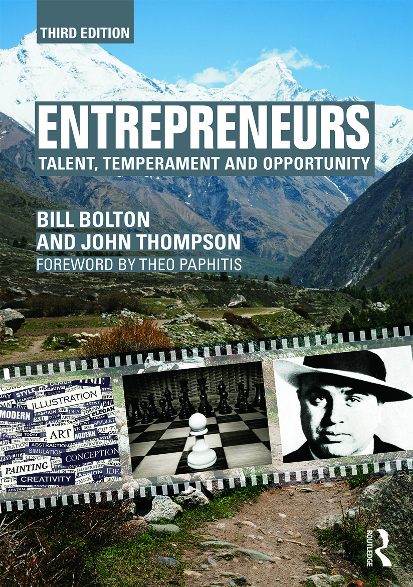 Entrepreneurs: Talent, Temperament and Opportunity, 3rd Edition (Paperback) book cover