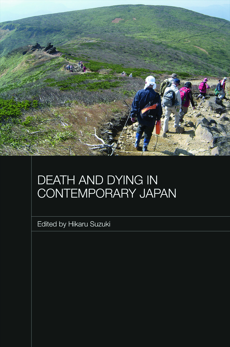 Death and Dying in Contemporary Japan (Hardback) book cover