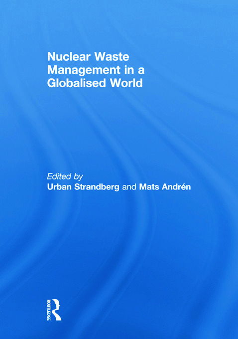 Nuclear Waste Management in a Globalised World (Paperback) book cover