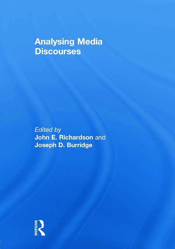 Analysing Media Discourses book cover