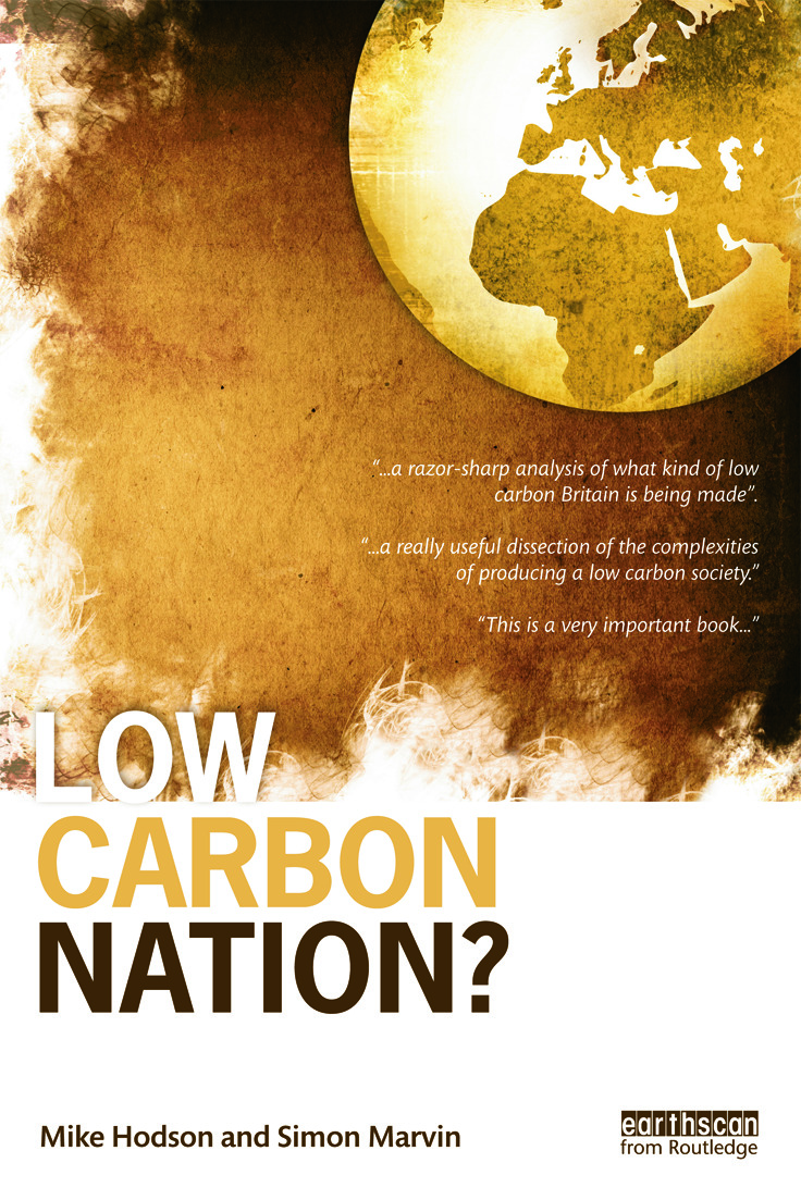 Low Carbon Nation? (Paperback) book cover
