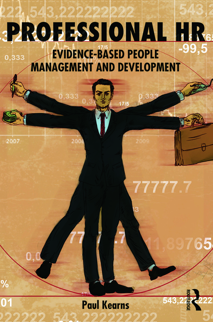 Professional HR: Evidence- Based People Management and Development (Paperback) book cover