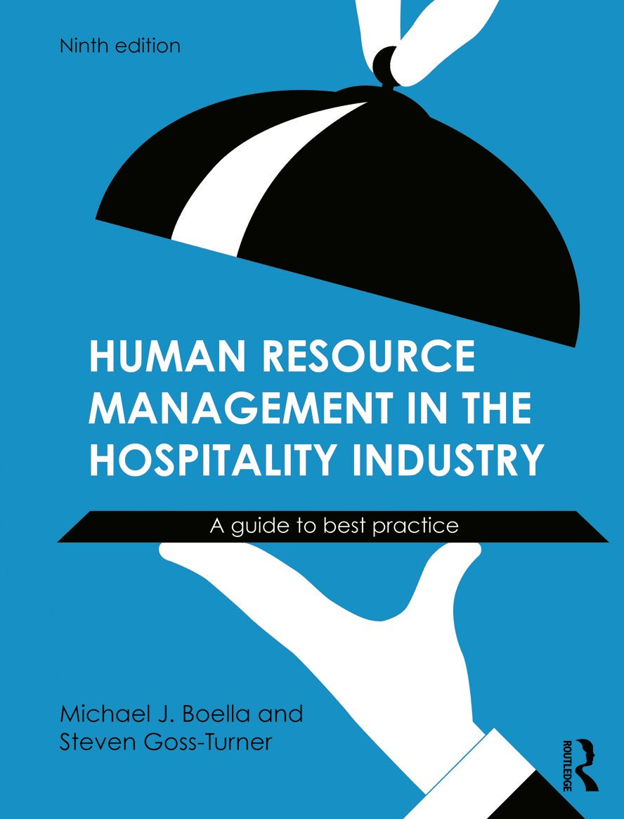 Human Resource Management in the Hospitality Industry: A Guide to Best Practice, 9th Edition (Paperback) book cover