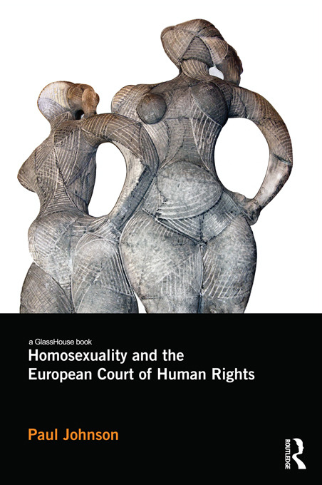 Homosexuality and the European Court of Human Rights book cover