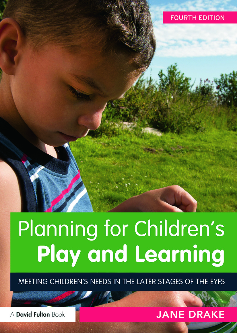 Planning for Children's Play and Learning