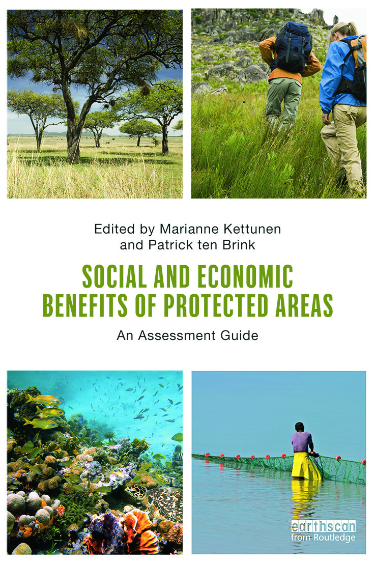 Social and Economic Benefits of Protected Areas: An Assessment Guide (Paperback) book cover