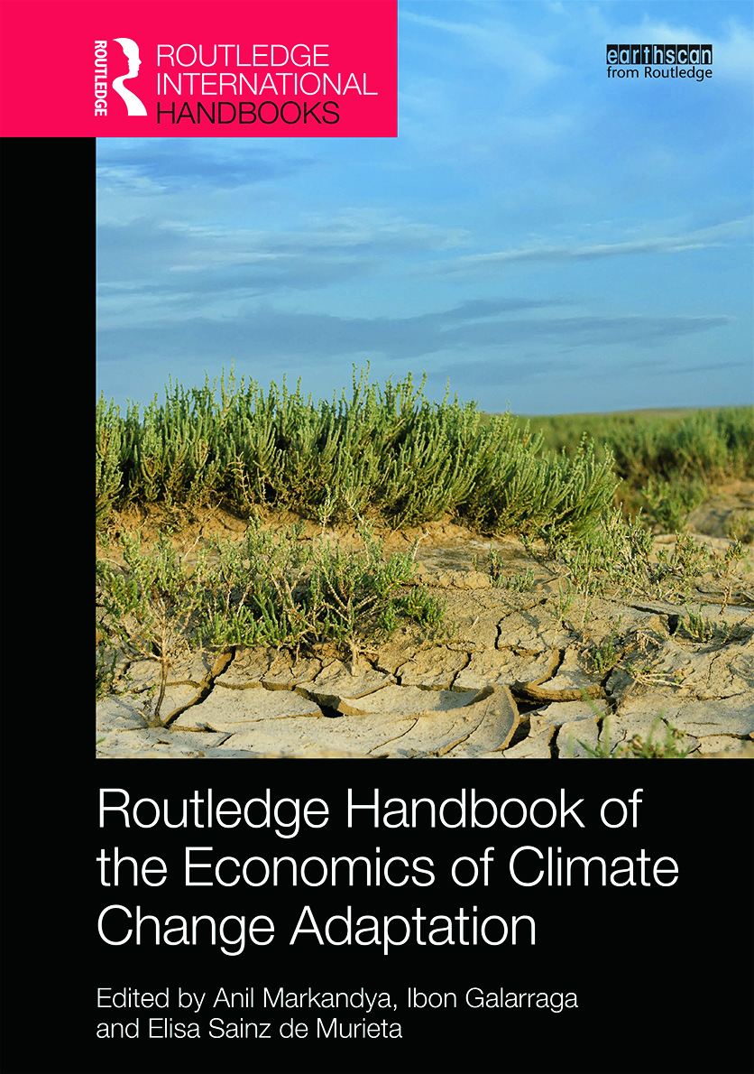 Routledge Handbook of the Economics of Climate Change Adaptation: 1st Edition (Hardback) book cover