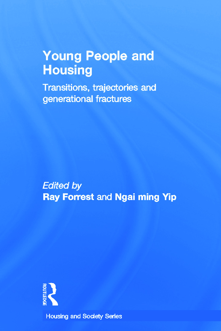 Young People and Housing: Transitions, Trajectories and Generational Fractures book cover