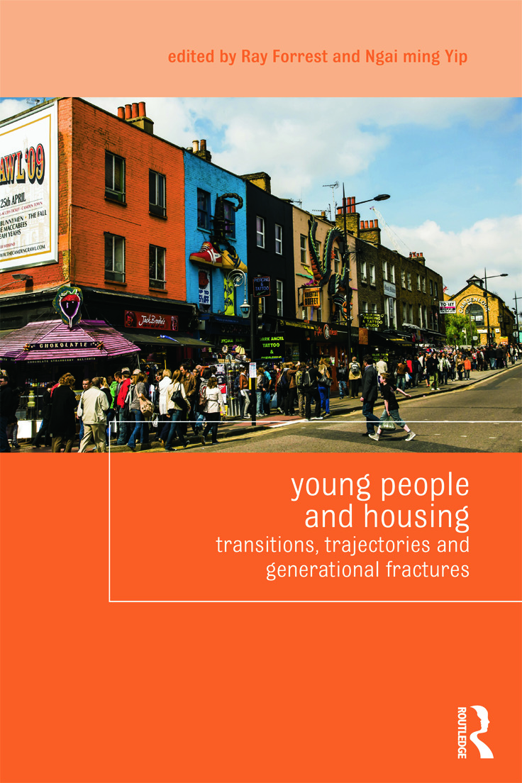 Young People and Housing: Transitions, Trajectories and Generational Fractures (Paperback) book cover