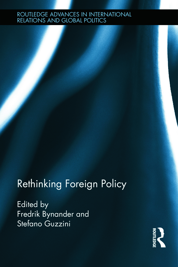 Rethinking Foreign Policy (Hardback) book cover