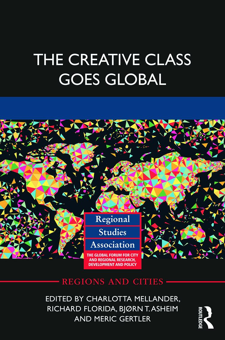 The Creative Class Goes Global (Paperback) book cover