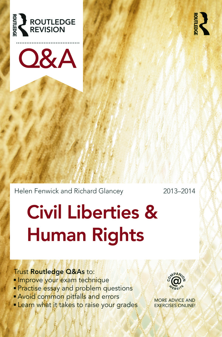 Q&A Civil Liberties & Human Rights 2013-2014: 6th Edition (Paperback) book cover
