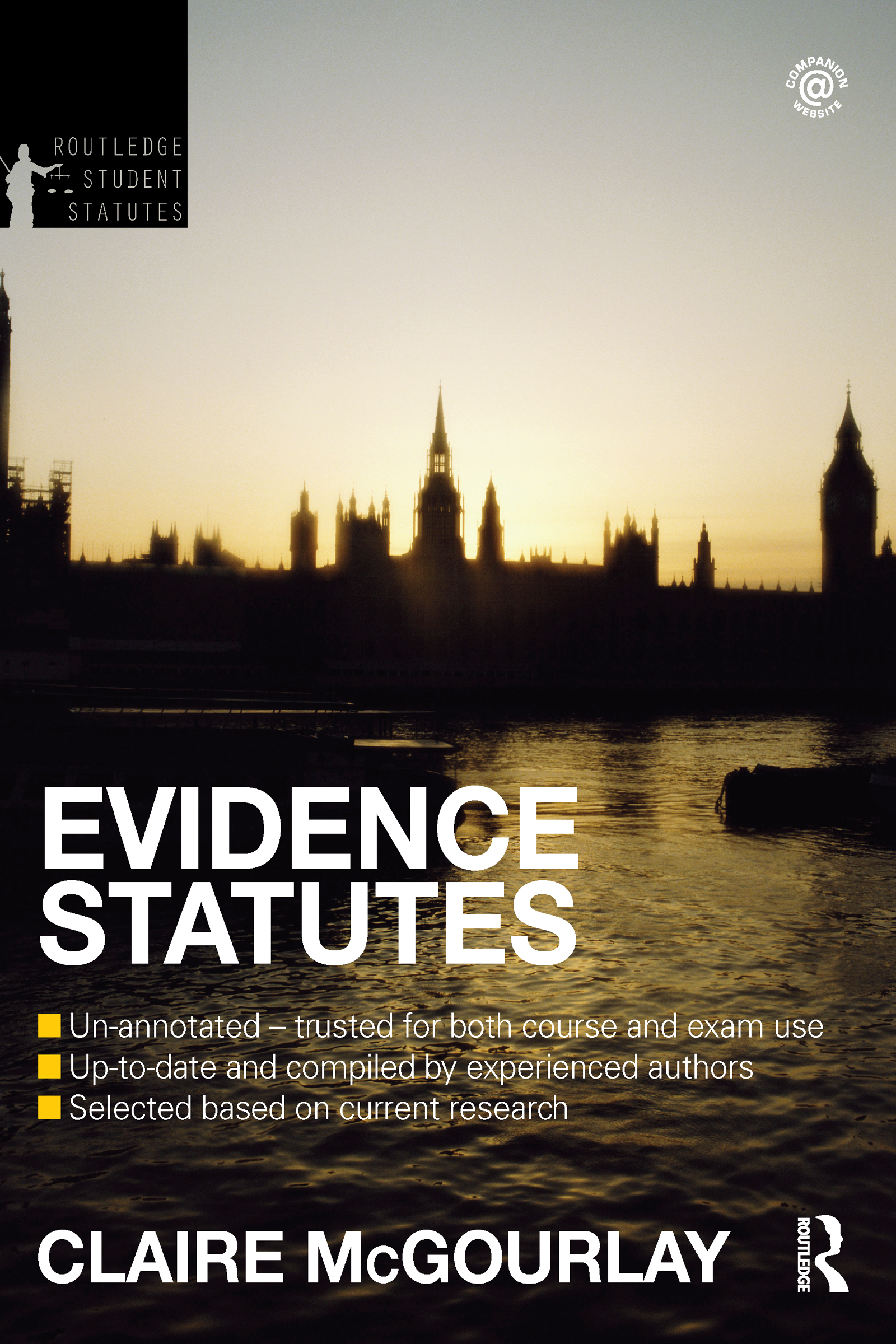 Evidence Statutes 2012-2013: 4th Edition (Paperback) book cover