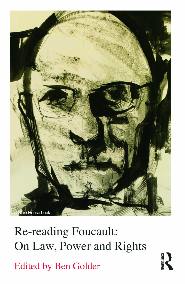 Re-reading Foucault: On Law, Power and Rights (Paperback) book cover