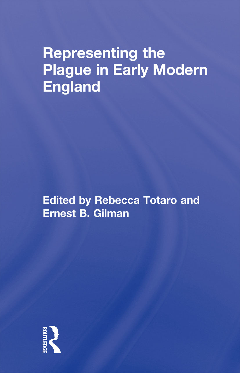 Representing the Plague in Early Modern England (Paperback) book cover