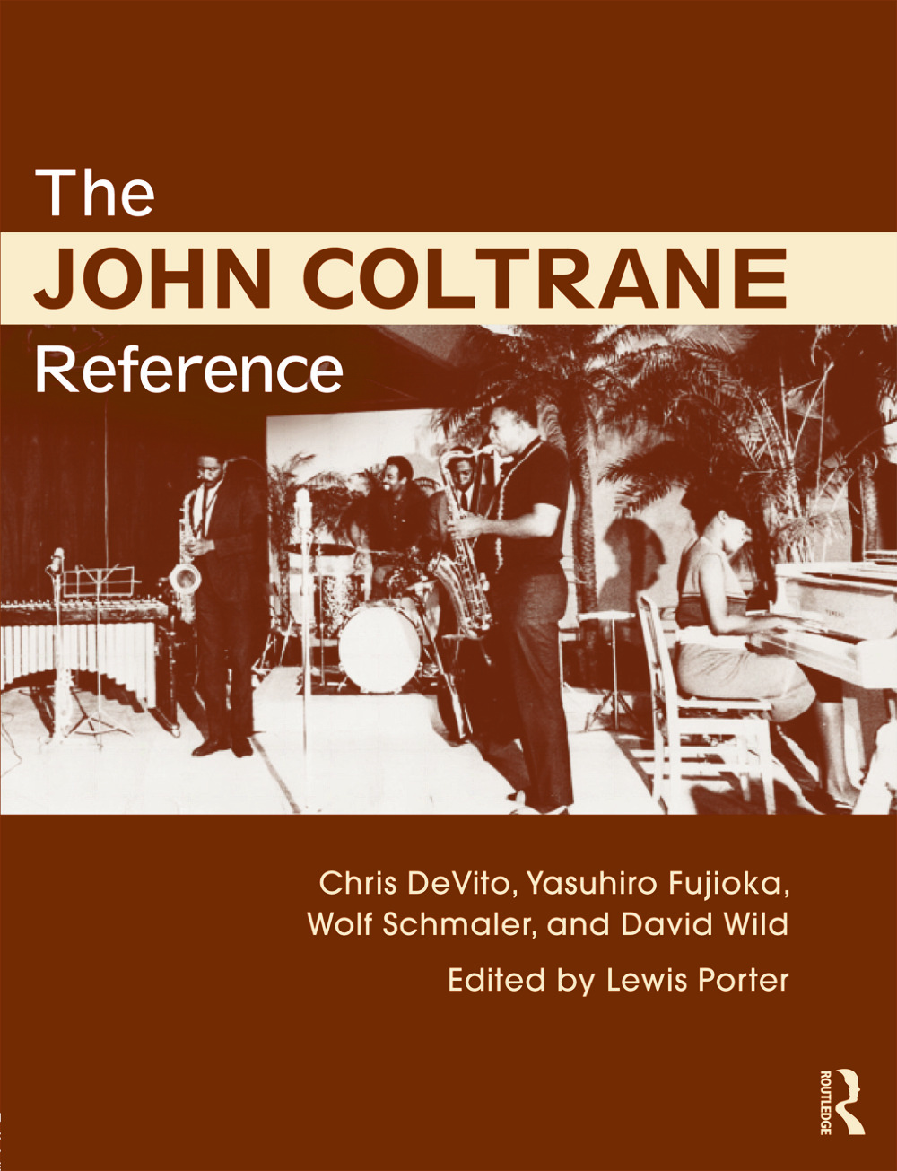 The John Coltrane Reference: 1st Edition (Paperback) book cover