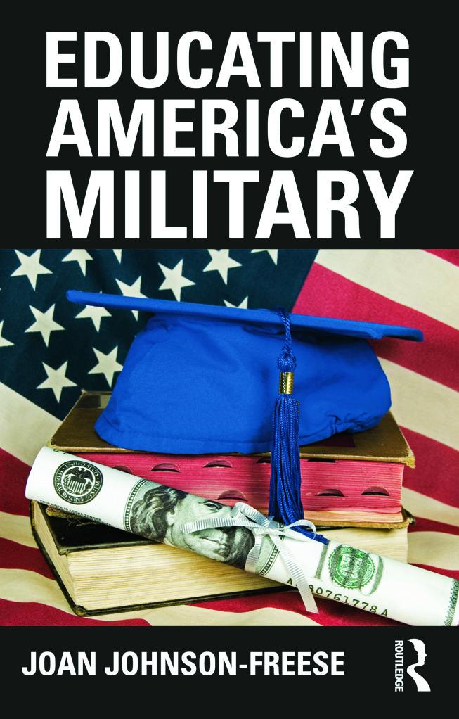Educating America's Military (Paperback) book cover