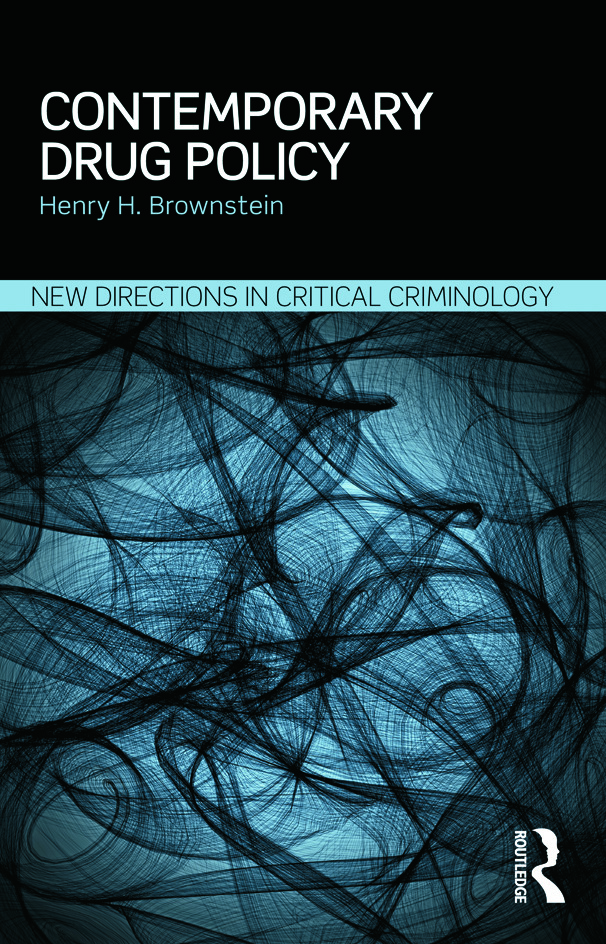Contemporary Drug Policy: 1st Edition (Paperback) book cover