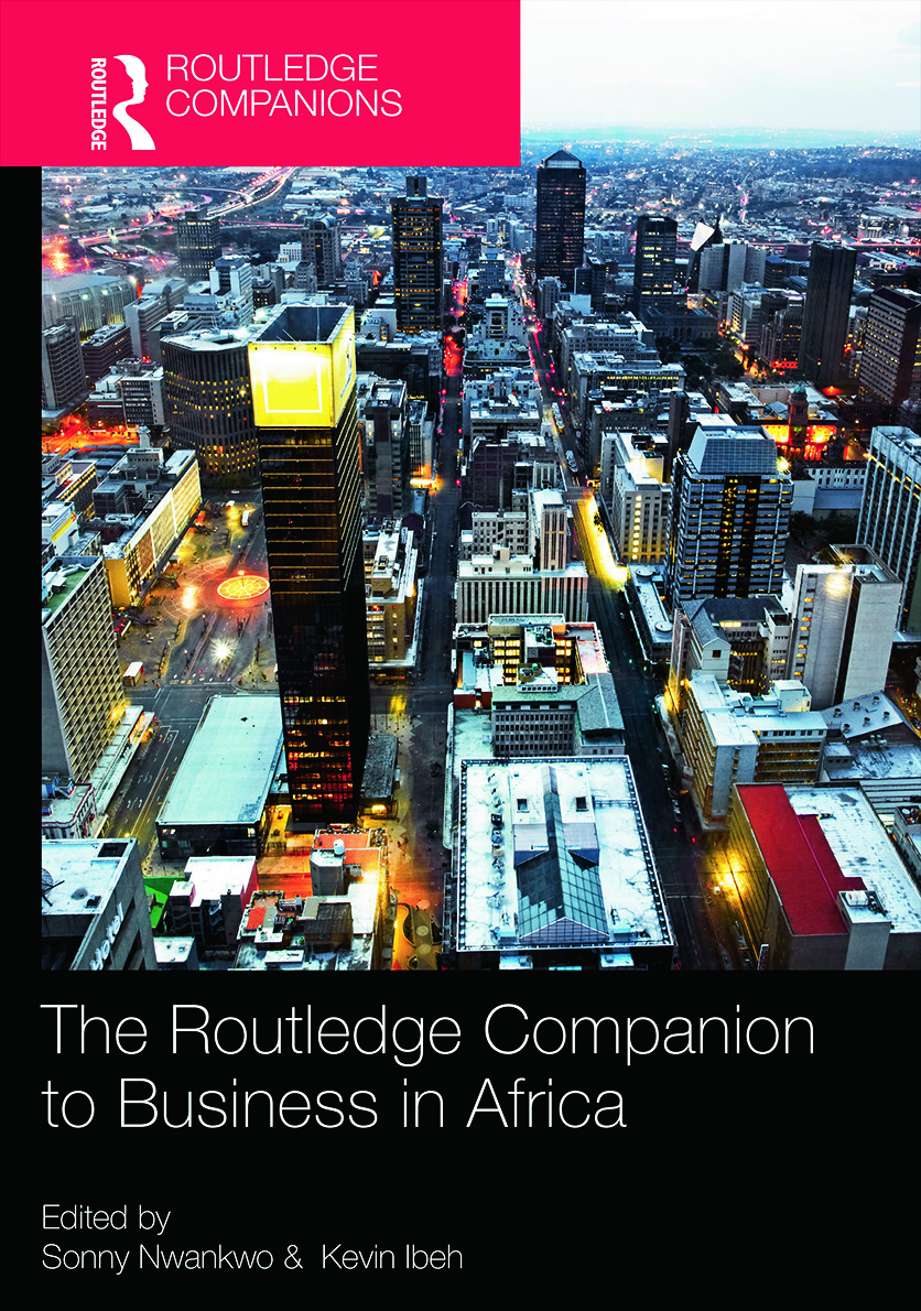 The Routledge Companion to Business in Africa book cover