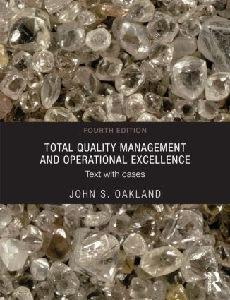 Total Quality Management and Operational Excellence: Text with Cases, 4th Edition (Paperback) book cover