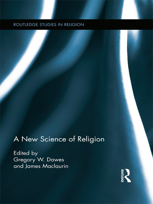 A New Science of Religion (Hardback) book cover