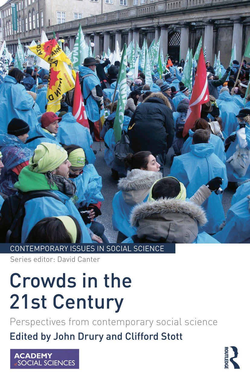 Crowds in the 21st Century: Perspectives from contemporary social science (Hardback) book cover