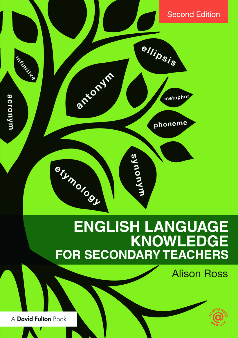 English Language Knowledge for Secondary Teachers: 2nd Edition (Paperback) book cover