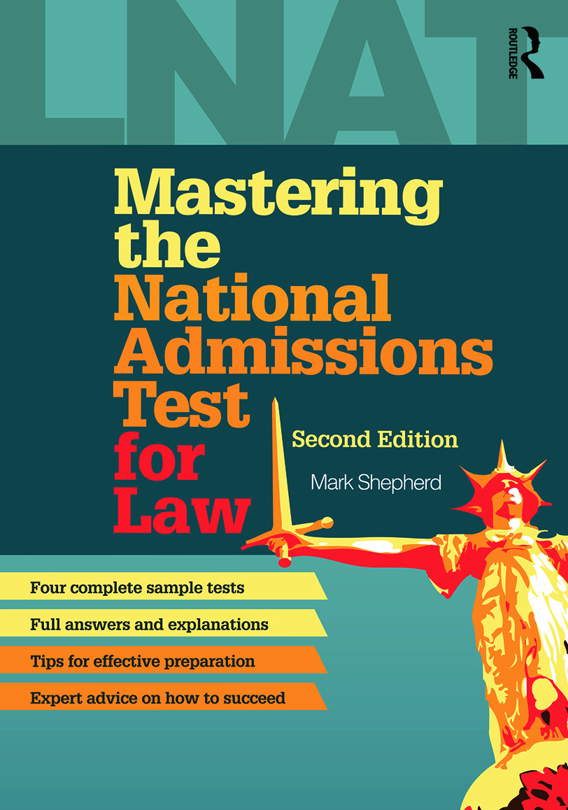 Mastering the National Admissions Test for Law: 2nd Edition (Paperback) book cover