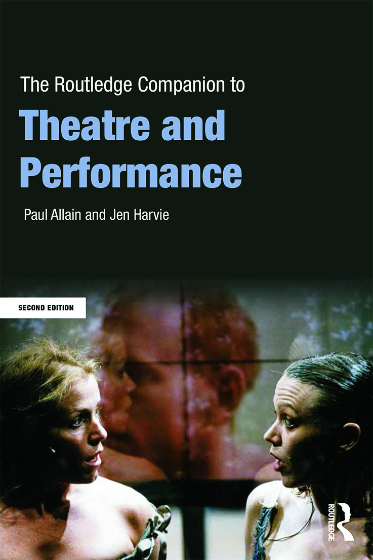 The Routledge Companion to Theatre and Performance book cover