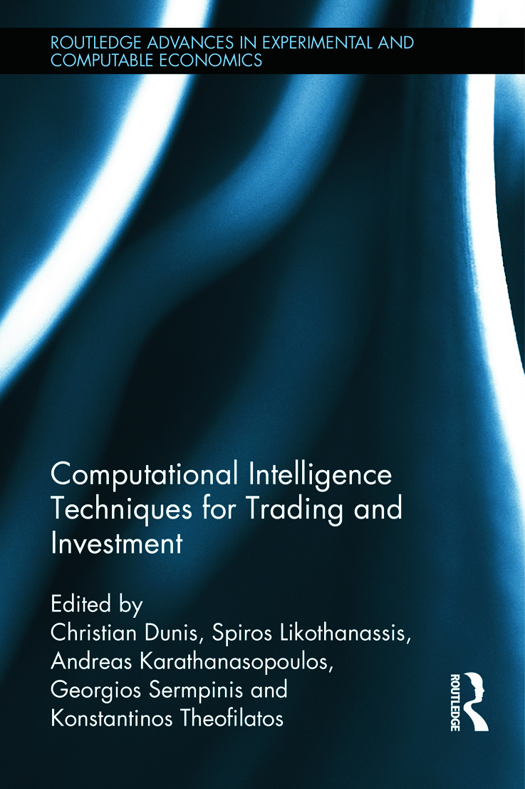 Computational Intelligence Techniques for Trading and Investment (Hardback) book cover