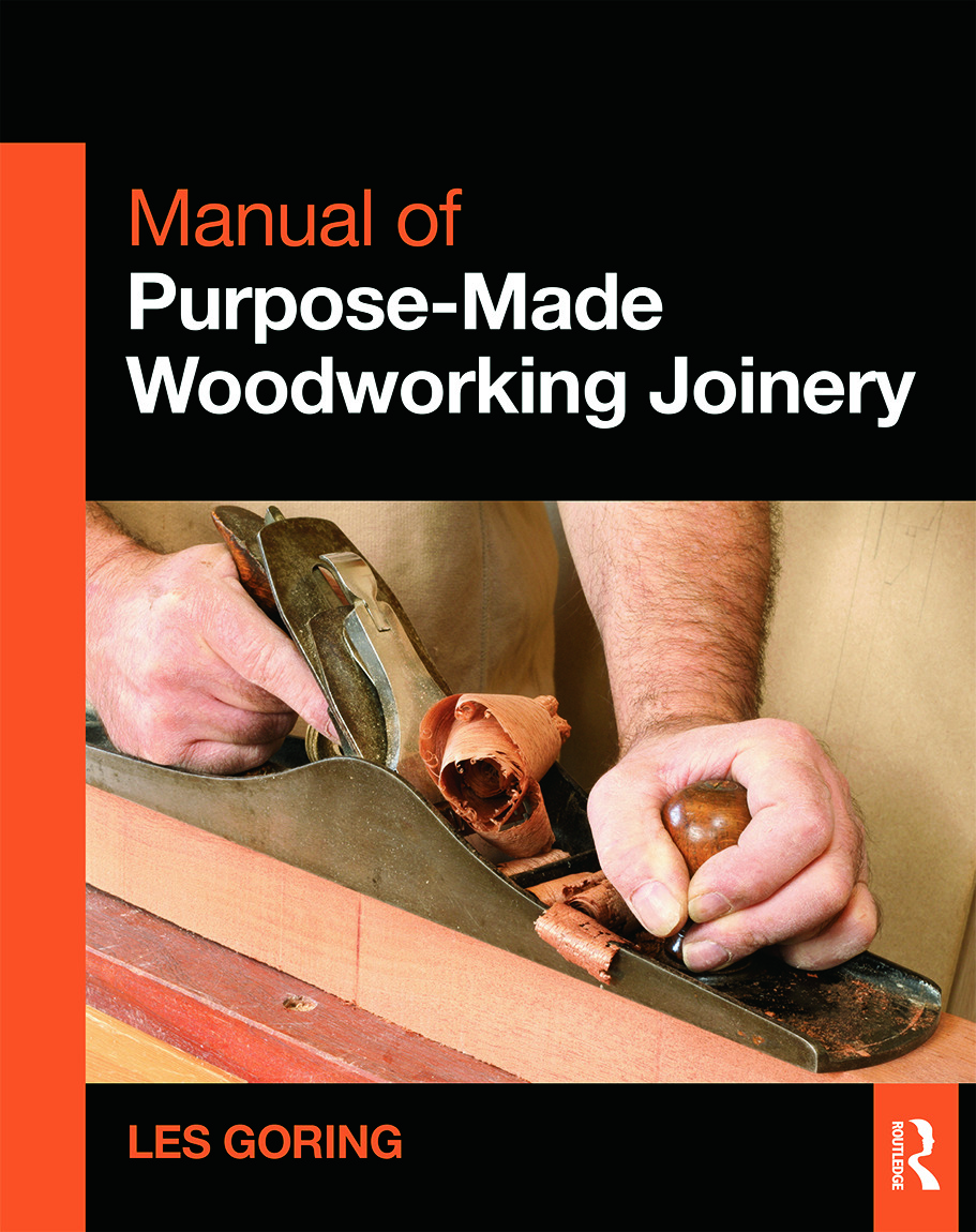 Manual of Purpose-Made Woodworking Joinery (Paperback) book cover