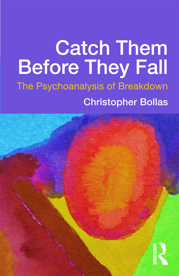 Catch Them Before They Fall: The Psychoanalysis of Breakdown (Paperback) book cover