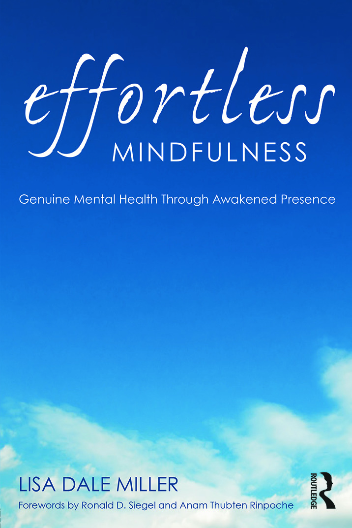 Effortless Mindfulness: Genuine Mental Health Through Awakened Presence book cover
