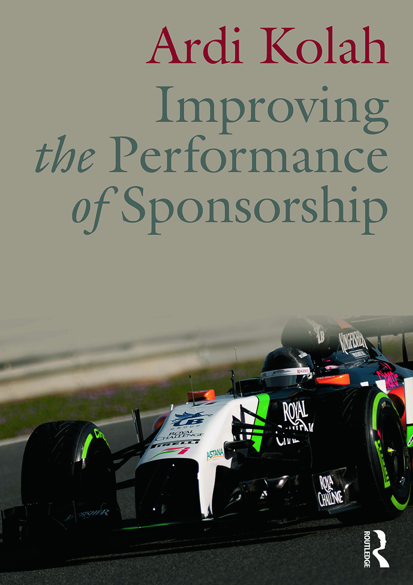 Improving the Performance of Sponsorship: 1st Edition (Paperback) book cover