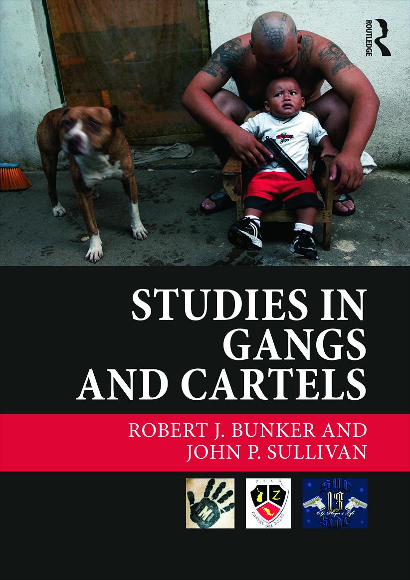 Studies in Gangs and Cartels (Hardback) book cover