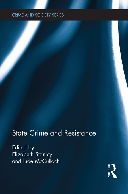 State Crime and Resistance book cover