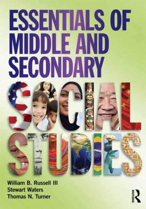 Essentials of Middle and Secondary Social Studies (Paperback) book cover