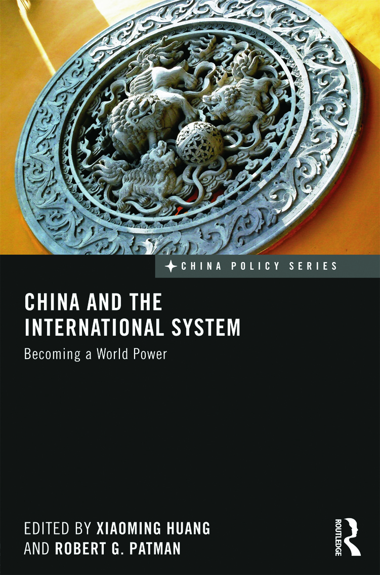 China and the International System: Becoming a World Power (Hardback) book cover