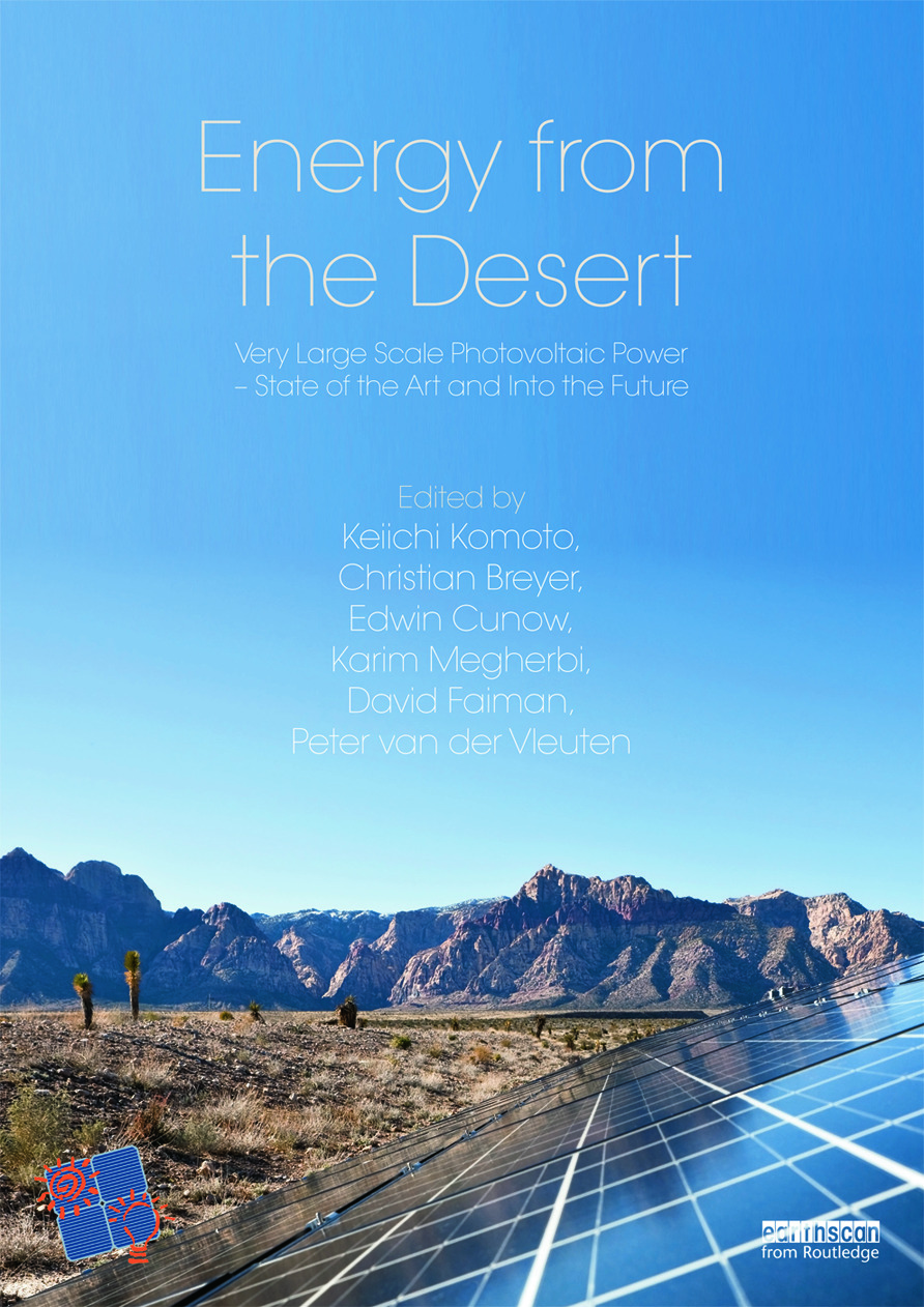 Energy from the Desert: Very Large Scale PV Power-State of the Art and Into The Future, 1st Edition (Hardback) book cover