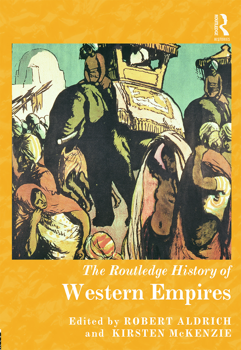 The Routledge History of Western Empires (Hardback) book cover