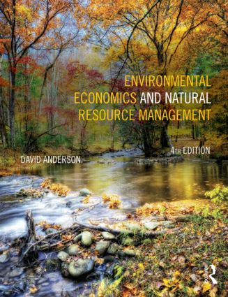 Environmental Economics and Natural Resource Management: 4th Edition (Paperback) book cover