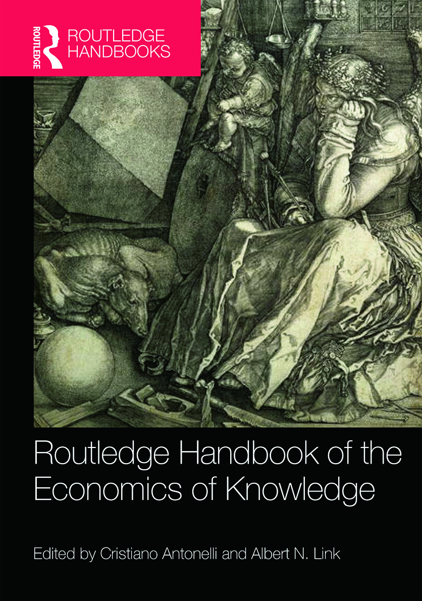Routledge Handbook of the Economics of Knowledge book cover