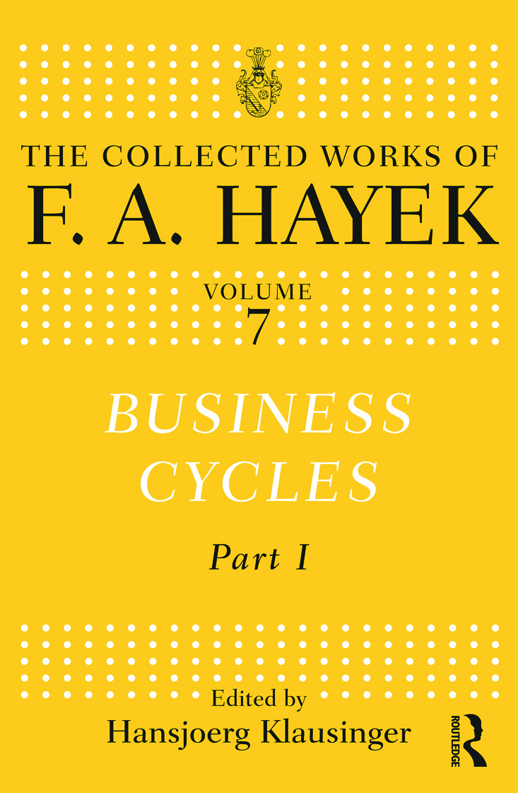 Business Cycles: Part I book cover